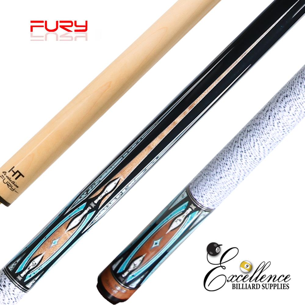 "FURY (DP-1) 58"" 2-PC POOL CUE"