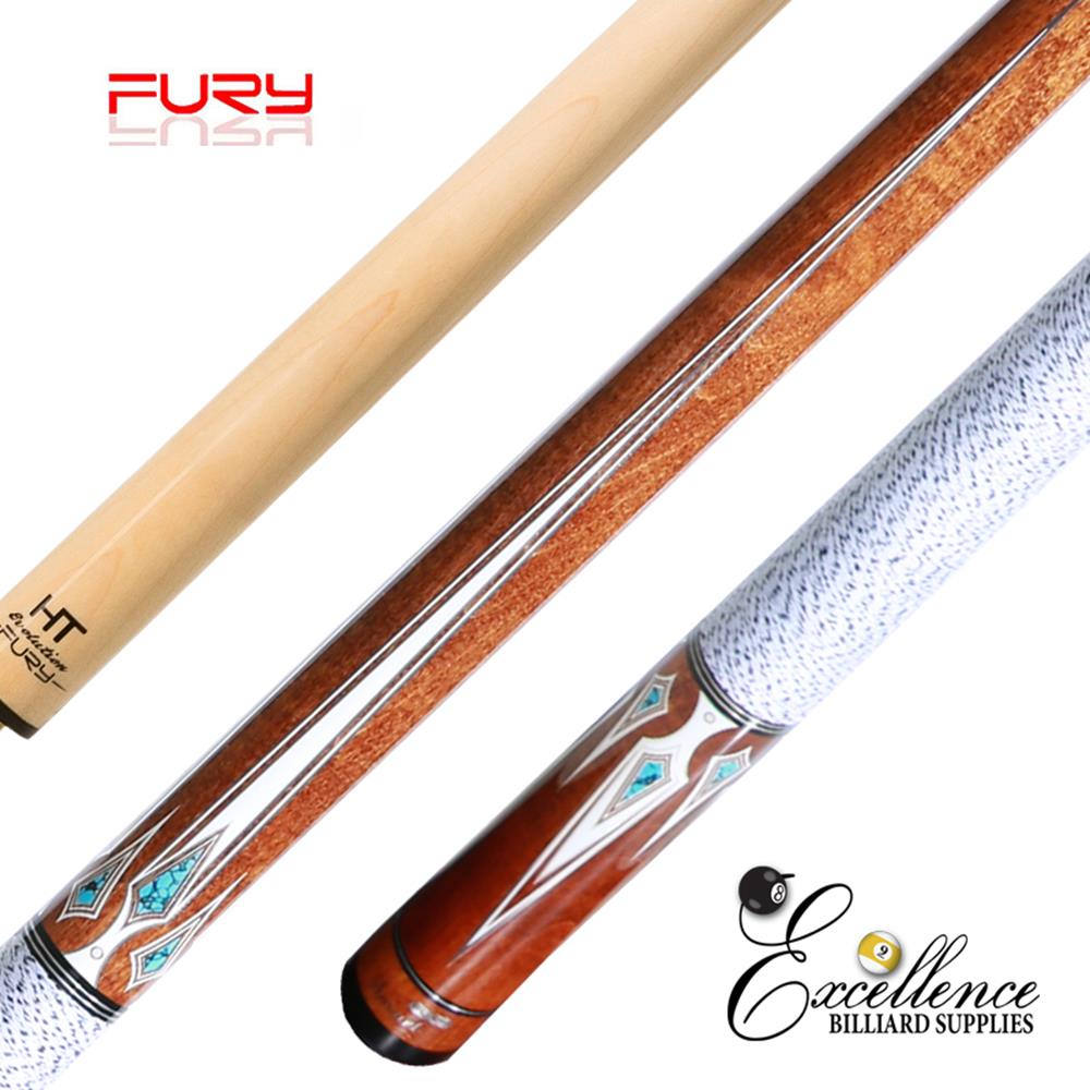 "FURY (DP-4) 58"" 2-PC POOL CUE"