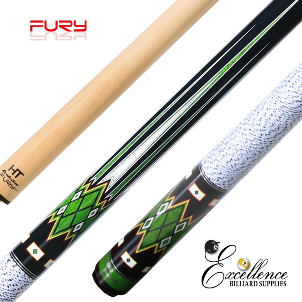 "FURY (DP-5) 58"" 2-PC POOL CUE"