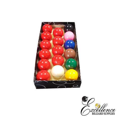 "2"" Economy Snooker Balls - Excellence Billiards NZL"