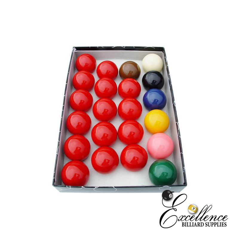 "2 1/4"" Economy Snooker Ball Set - Excellence Billiards"