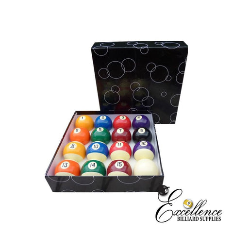 "2"" Economy Pool Balls - Excellence Billiards"