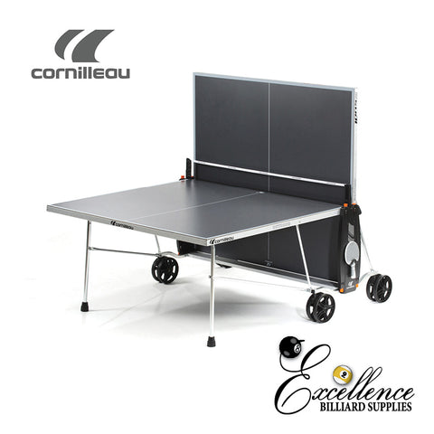 Cornilleau Table Tennis 100S Crossover - Grey - Excellence Billiards NZL