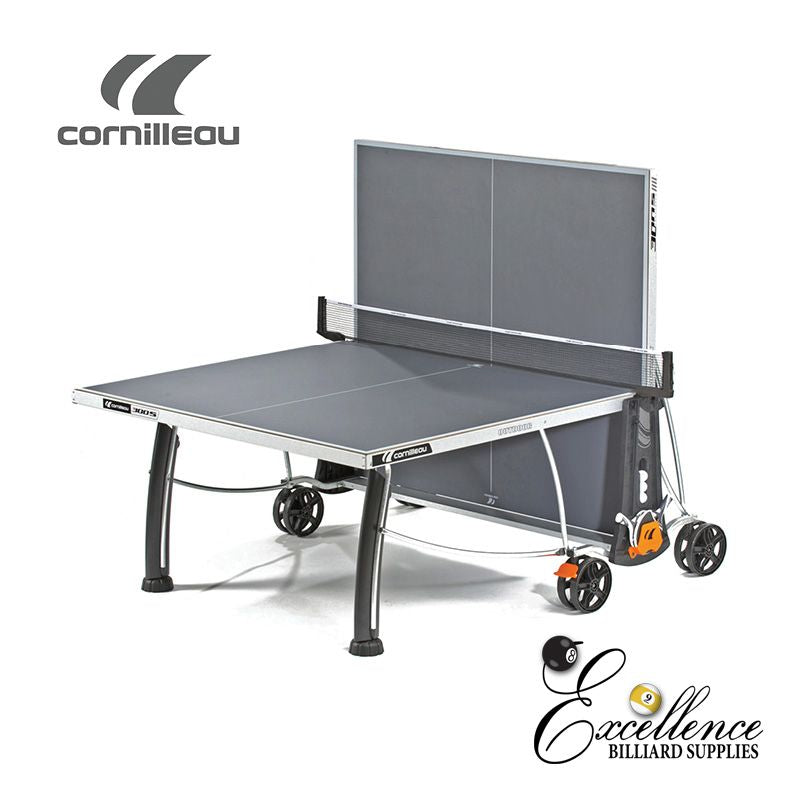 Cornilleau Table Tennis 300S Crossover - Grey - Excellence Billiards NZL