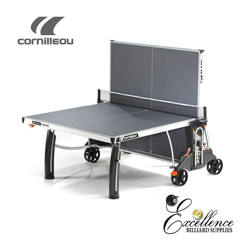 Cornilleau Table Tennis 500M Crossover - Grey - Excellence Billiards NZL