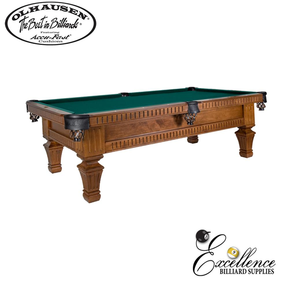Olhausen Pool Table Franklin - Excellence Billiards NZL