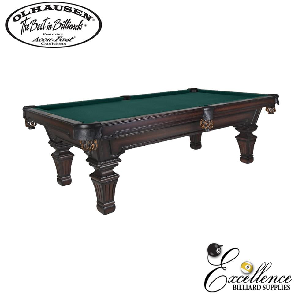 Olhausen Pool Table Hampton 8' - Excellence Billiards NZL