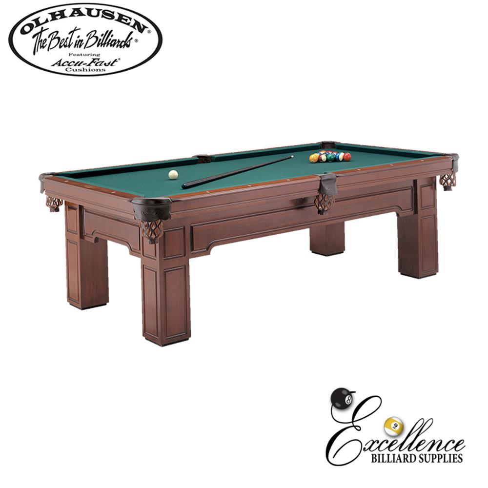 Olhausen Pool Table Huntington 8' - Excellence Billiards NZL