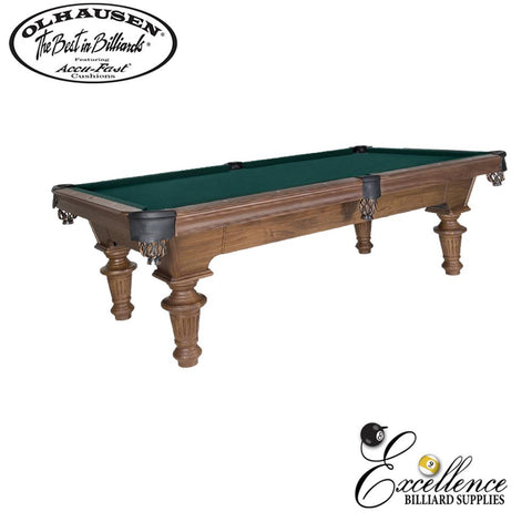 Olhausen Pool Table Innsbruck 8' - Excellence Billiards NZL