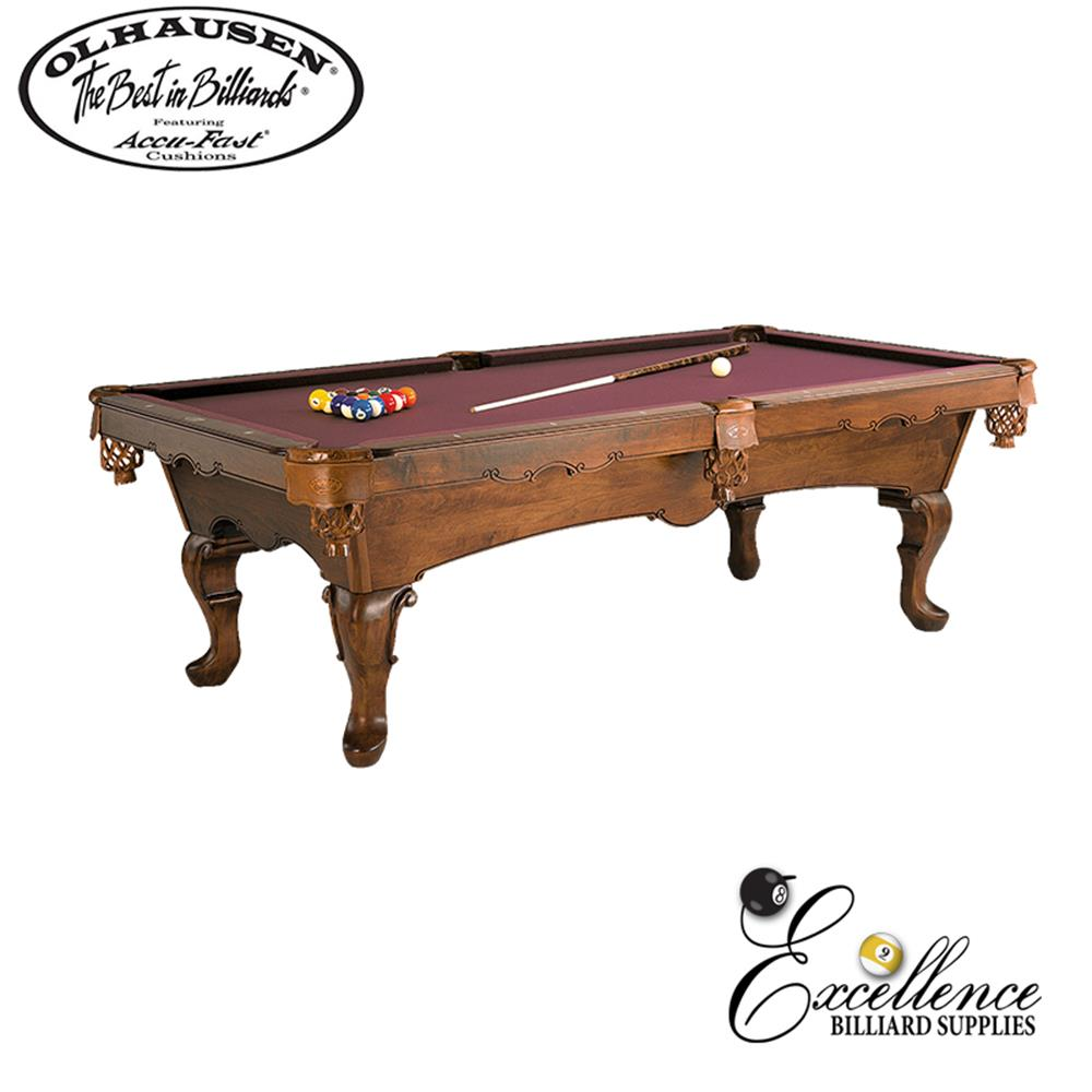 Olhausen Pool Table Lafayette 8' - Excellence Billiards NZL