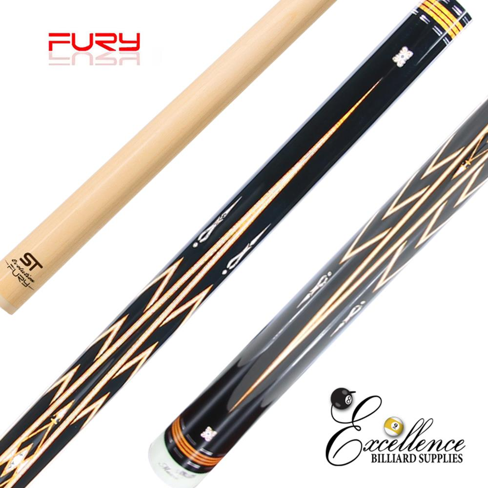 "FURY (LC-4) 58"" 2-PC POOL CUE"