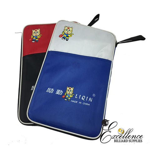 Liqin Bat Holder - Padded Bag - Excellence Billiards NZL