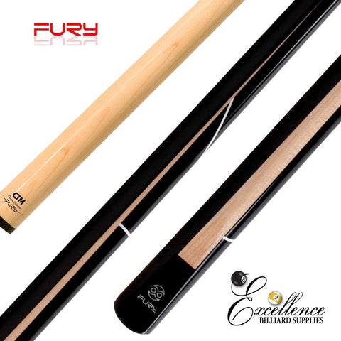 "FURY (MC-2) 58"" 2-PC CHINESE BILLIARD CUE"