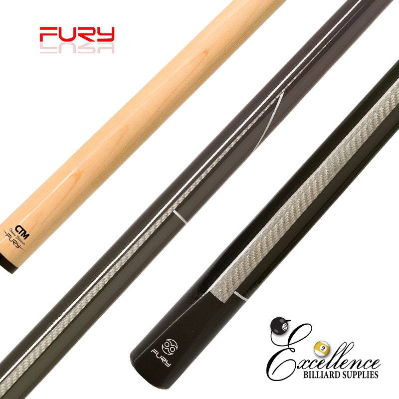 "FURY (MC-5) 58"" 2-PC CHINESE BILLIARD CUE"