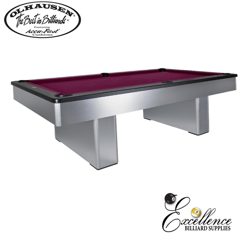 Olhausen Pool Table Monarch 8' - Excellence Billiards NZL