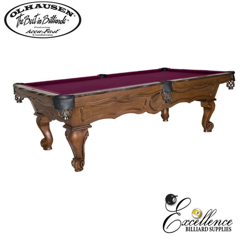 Olhausen Pool Table New Orleans 8' - Excellence Billiards NZL