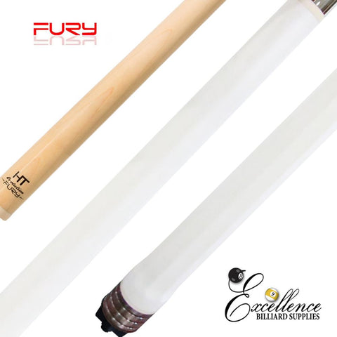 "FURY (OCT-1) WHITE 58"" 2-PC POOL CUE"