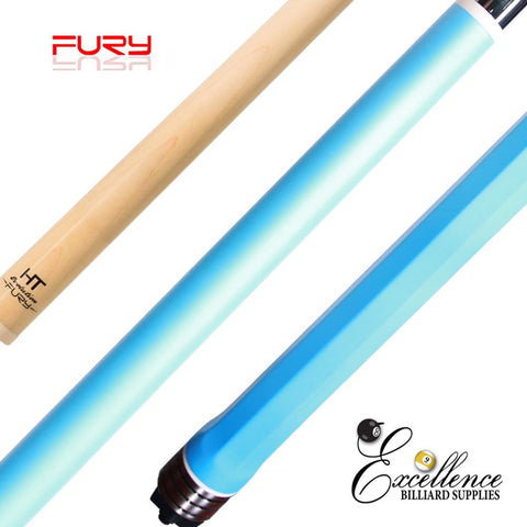 "FURY (OCT-2) BLUE 58"" 2-PC POOL CUE"