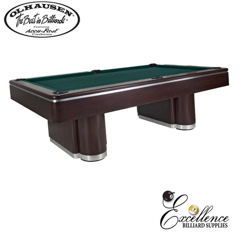 Olhausen Pool Table Plaza 8' - Excellence Billiards NZL