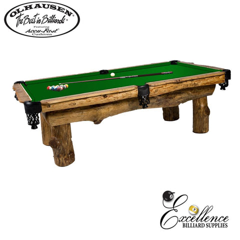 Olhausen Pool Table Ponderosa 8' - Excellence Billiards