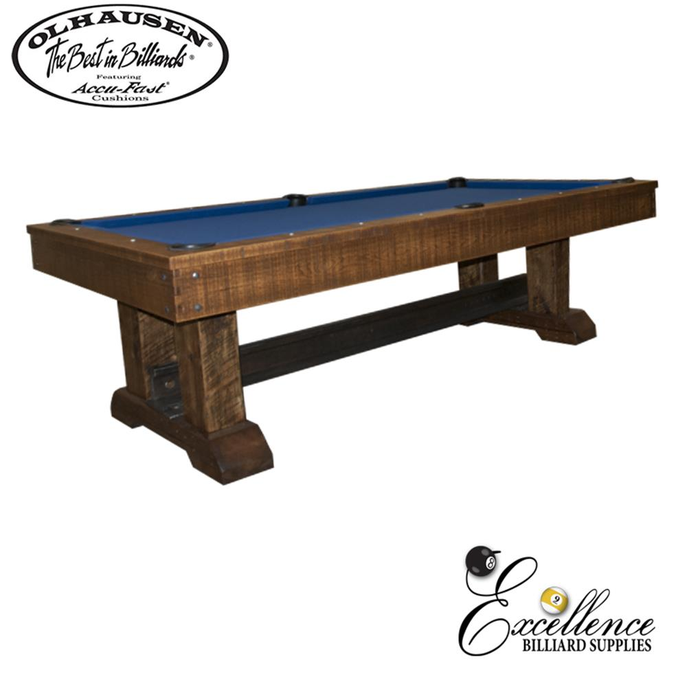 Olhausen Pool Table Railyard - Excellence Billiards NZL
