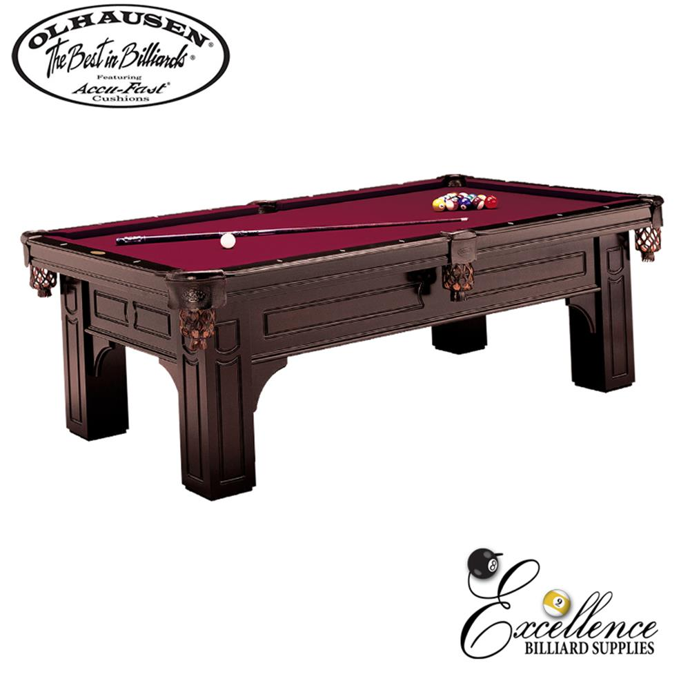 Olhausen Pool Table Remington 8' - Excellence Billiards NZL