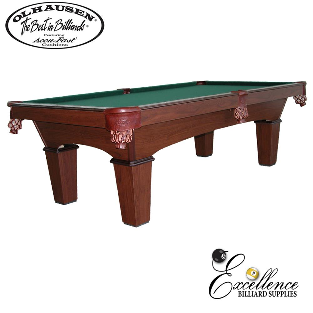 Olhausen Pool Table Reno-Veneer 8' - Excellence Billiards NZL