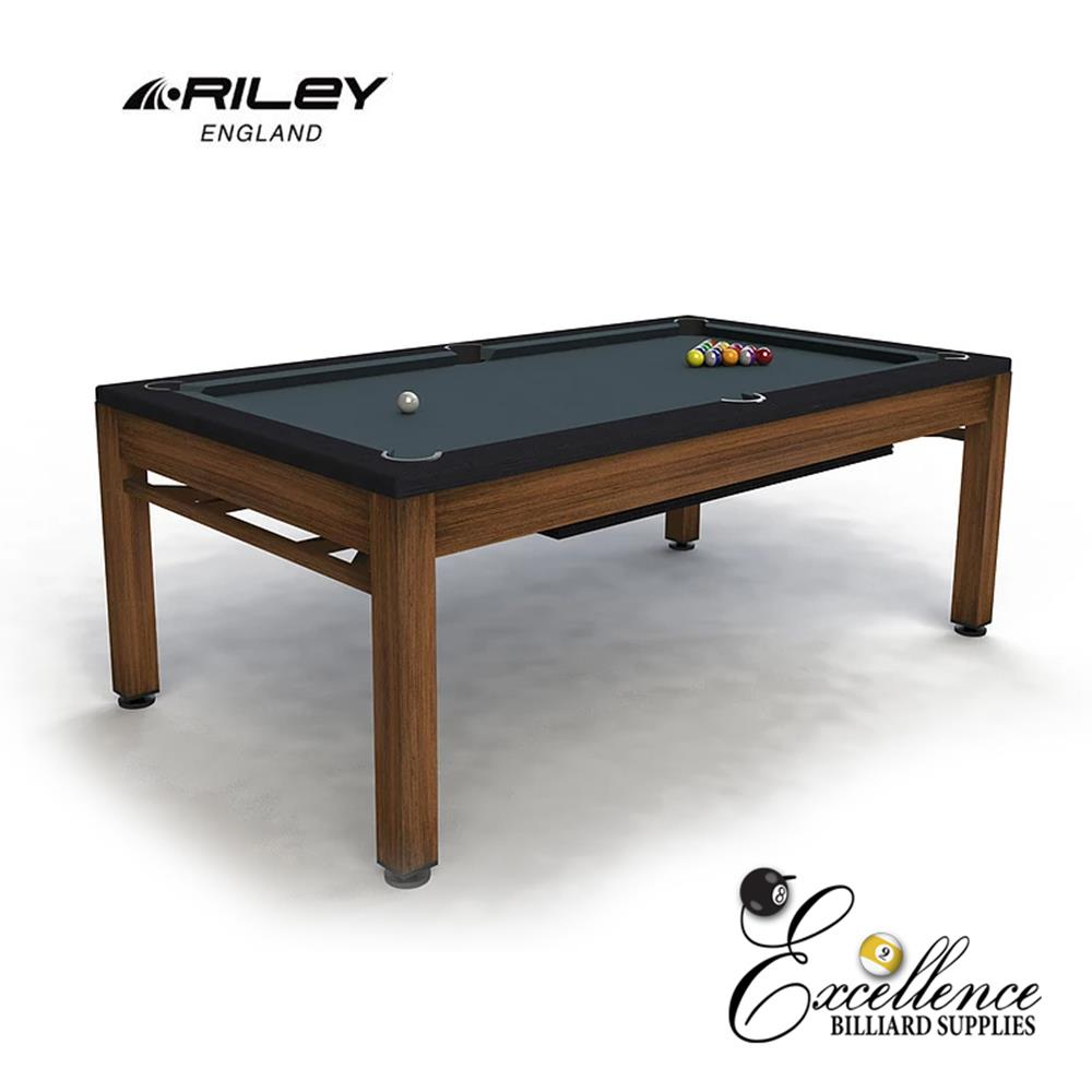 Riley Neptune Outdoor Diner - Brushed Brown & Black - Excellence Billiards