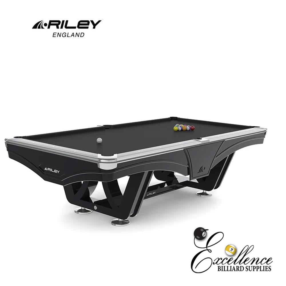 Riley Pool Table - Ray Tournament (Black)