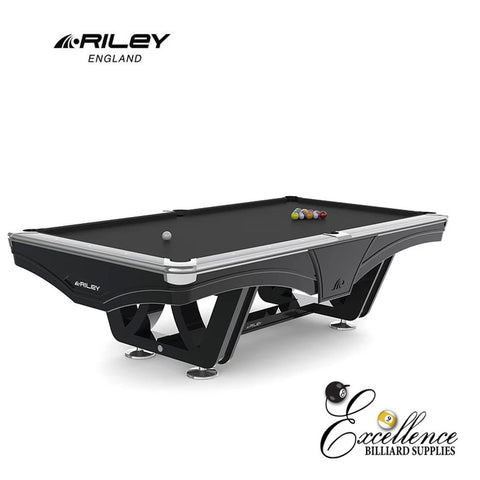 Riley Pool Table - Ray Tournament (Black) - Excellence Billiards