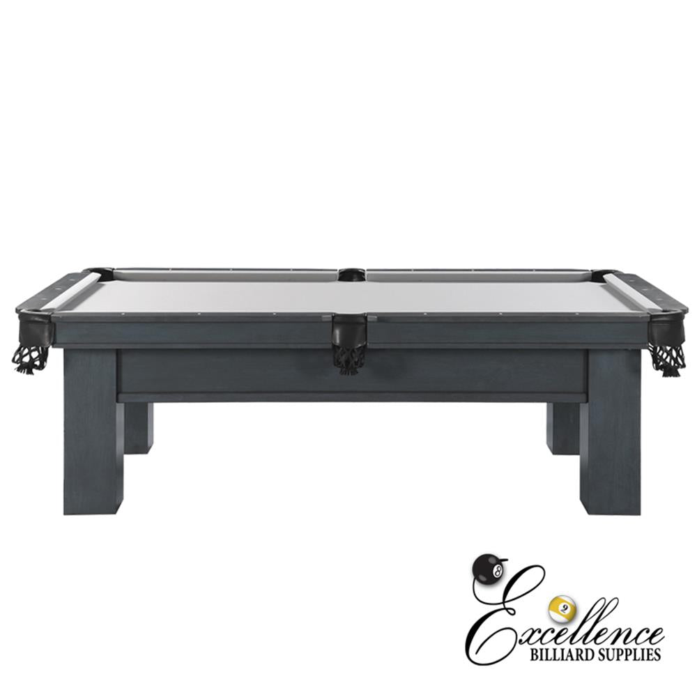 8' Rosario II Pool Table (Smokey Grey Finish) - Excellence Billiards NZL
