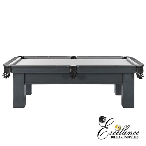 8' Rosario ll Pool Table (Smokey Grey Finish)