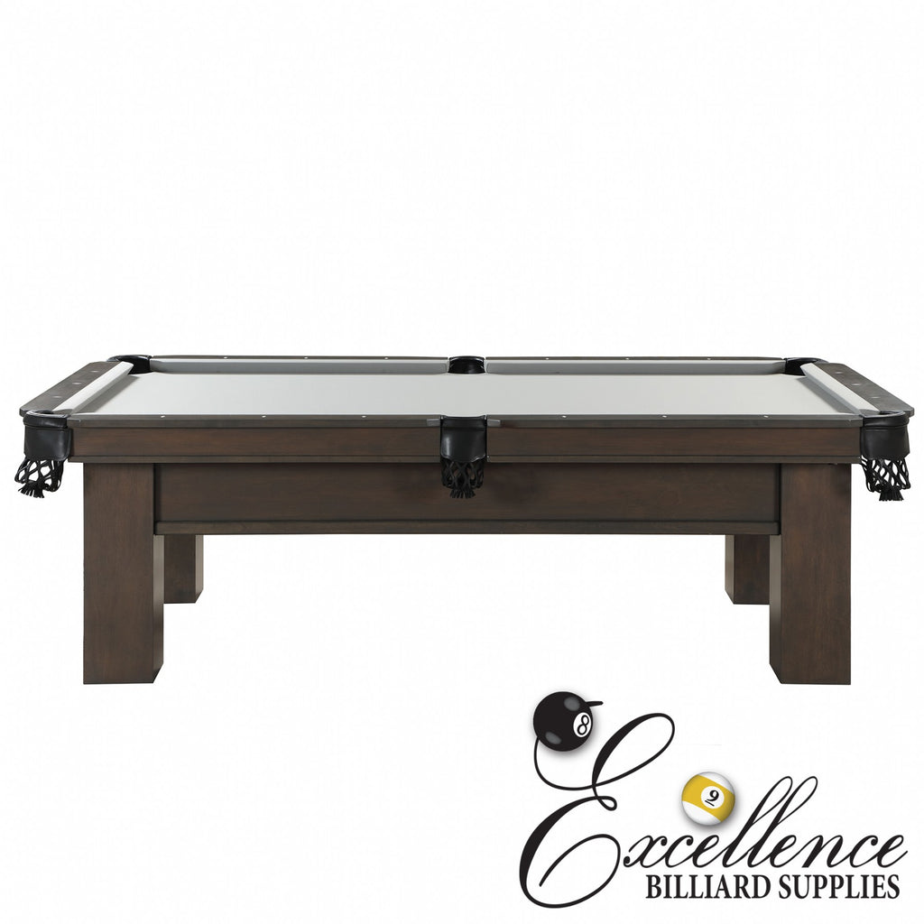 8' Rosario II Pool Table (American Walnut Finish)