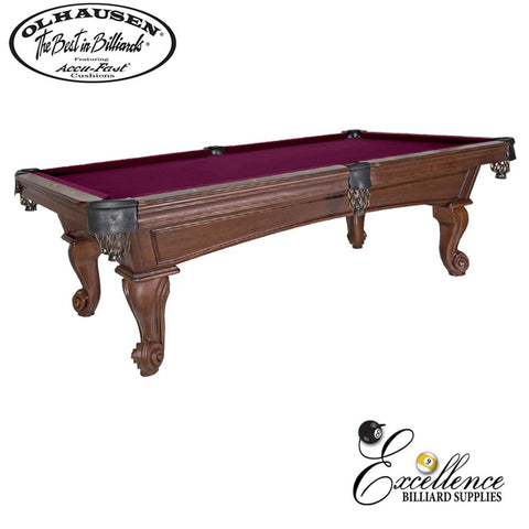 Olhausen Pool Table Santa Ana 8' - Excellence Billiards NZL