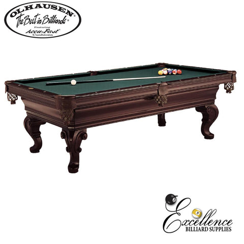 Olhausen Pool Table Seville 8' - Excellence Billiards NZL