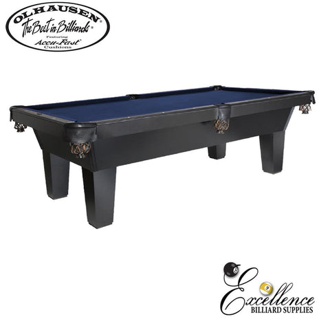 Olhausen Pool Table Sheraton-Veneer 8' - Excellence Billiards