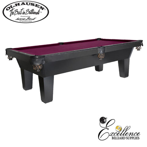 Olhausen Pool Table Sheraton Laminate 8' - Excellence Billiards