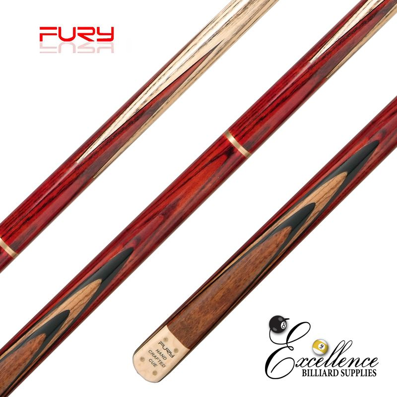 "FURY (SN-102) 57"" 2-PC ASH SNOOKER CUE"
