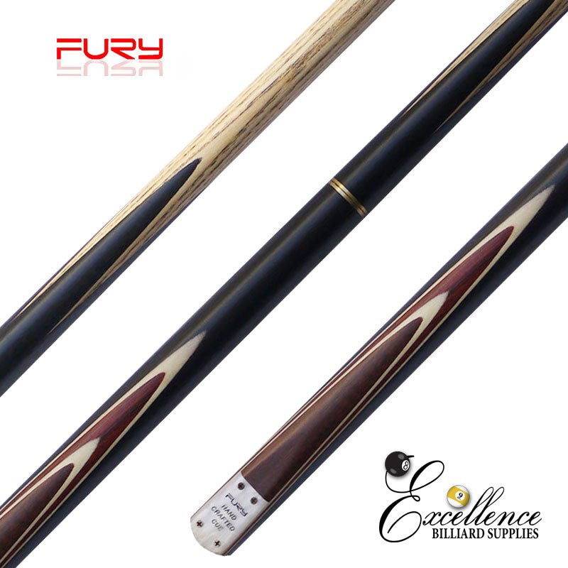 "FURY (SN-2) 57"" 2-PC ASH SNOOKER CUE - Excellence Billiards NZL"