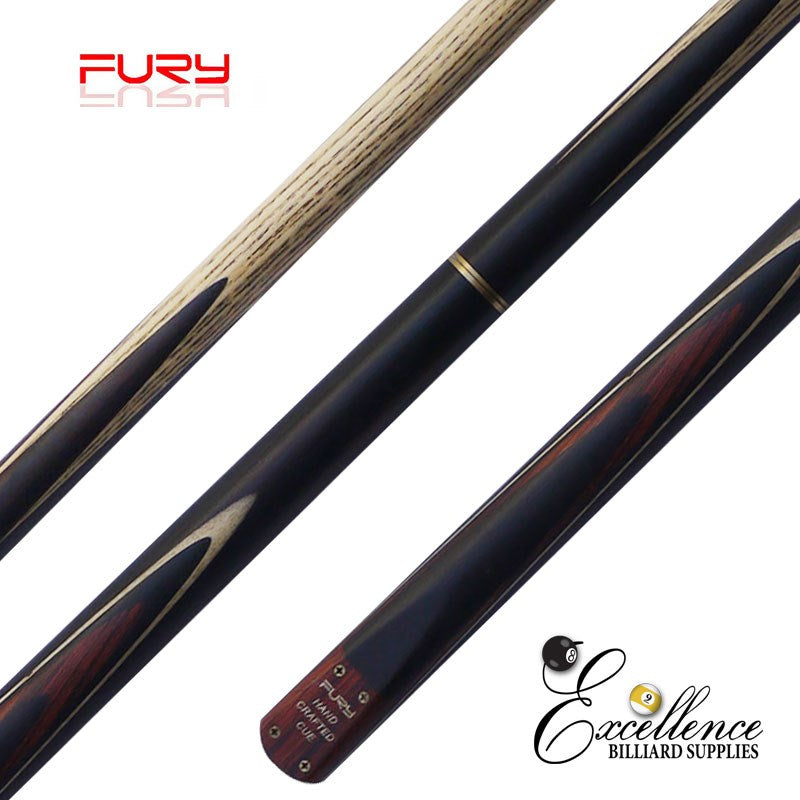 "FURY (SN-4) 57"" 2-PC ASH SNOOKER CUE - Excellence Billiards NZL"
