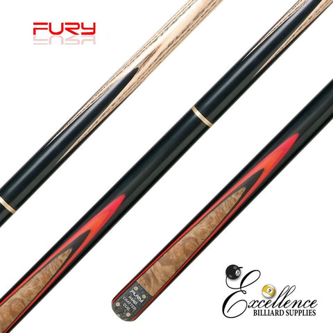 "FURY (SN-6) 57"" 2-PC ASH SNOOKER CUE"