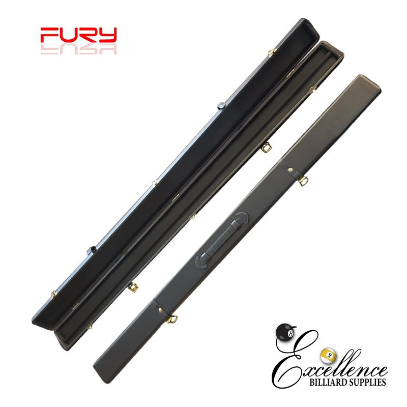 "50"" DELUXE 3/4 SNOOKER CUE CASE - BLACK - Excellence Billiards NZL"