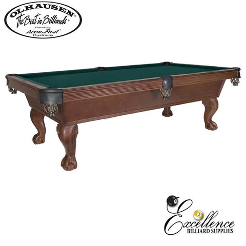 Olhausen Pool Table Stratford 8' - Excellence Billiards NZL