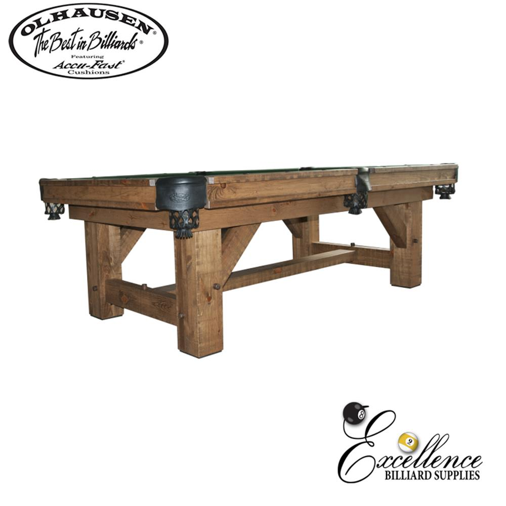 Olhausen Pool Table Timber Ridge - Excellence Billiards NZL
