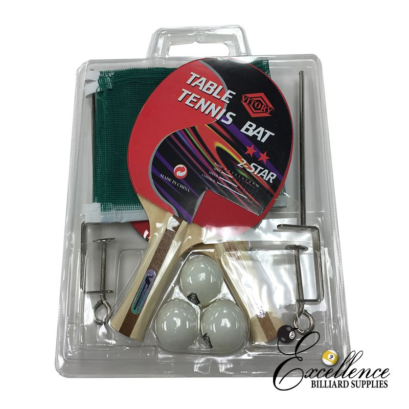 Victory Bat & Net Set - Excellence Billiards NZL
