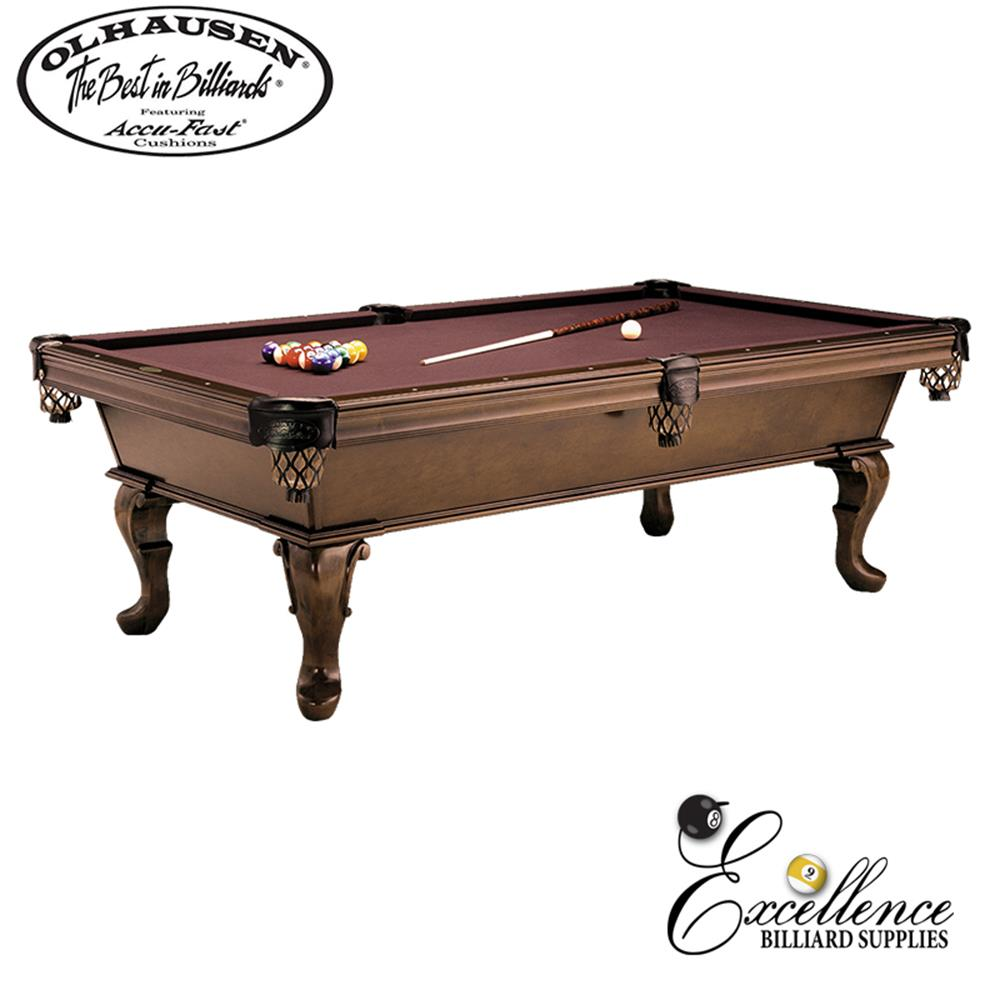 Olhausen Pool Table Virginian 8' - Excellence Billiards NZL