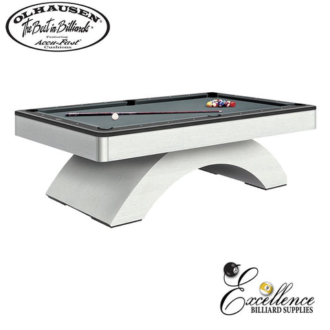 Olhausen Pool Table Waterfall 8' - Excellence Billiards NZL