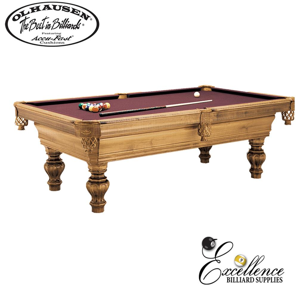 Olhausen Pool Table Wentworth 8' - Excellence Billiards NZL