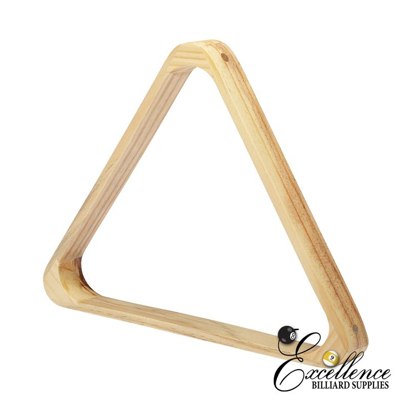 "2"" Wooden Triangle - Excellence Billiards NZL"