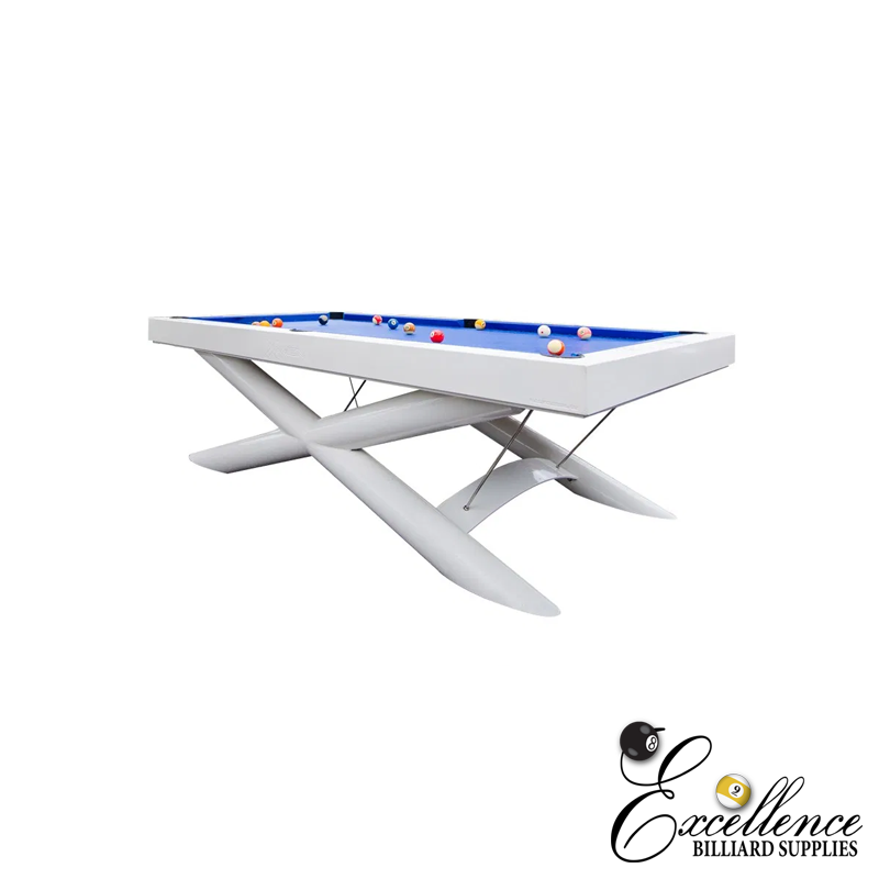 X-Men Outdoor Slate Pool Table - Excellence Billiards NZL